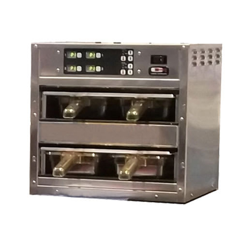 Carter-Hoffmann MZ223GS-2T Countertop Heated Holding Cabinet w/ (4) Pan Capacity - Stainless, 120v