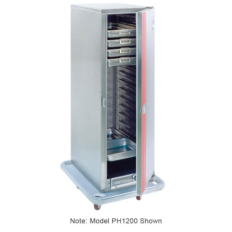 Carter-Hoffmann PH1250 3/4-Height Mobile Heated Cabinet w/ (50) Pan Capacity, 120v