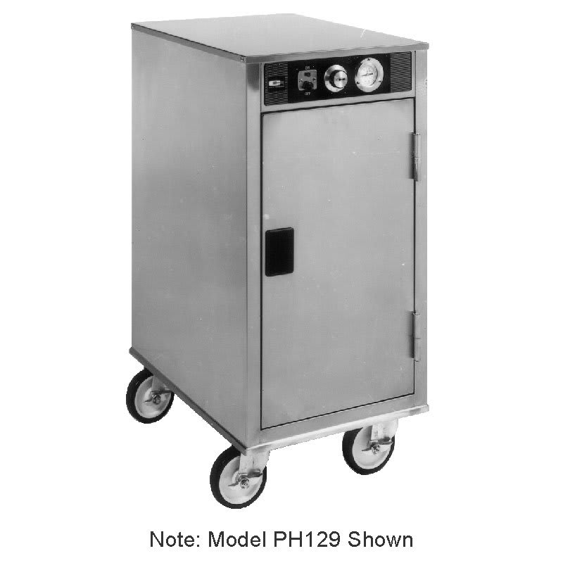 Carter-Hoffmann PH128 1/2 Height Insulated Mobile Heated Cabinet w/ (8) Pan Capacity, 120v