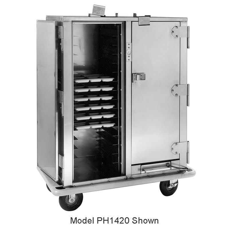 Carter-Hoffmann PH1430 3/4-Height Mobile Heated Cabinet w/ (45) Tray Capacity, 120v