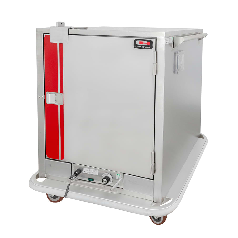 Carter-Hoffmann PH181 1/2 Height Insulated Mobile Heated Cabinet w/ (6) Pan Capacity, 120v