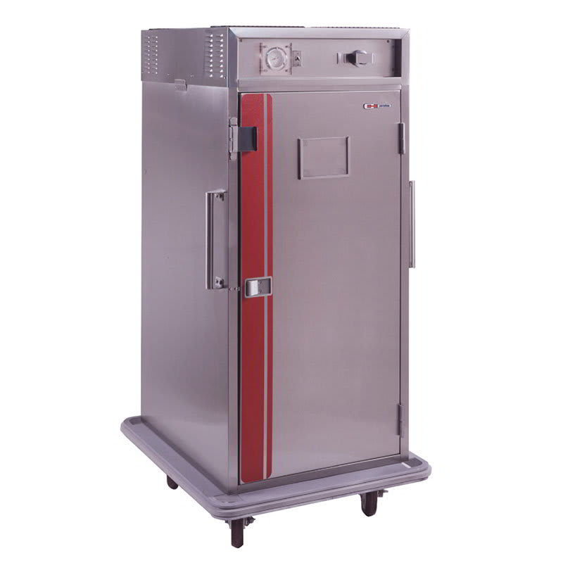 Carter-Hoffmann PH1820 3/4-Height Mobile Heated Cabinet w/ (12) Pan Capacity, 120v