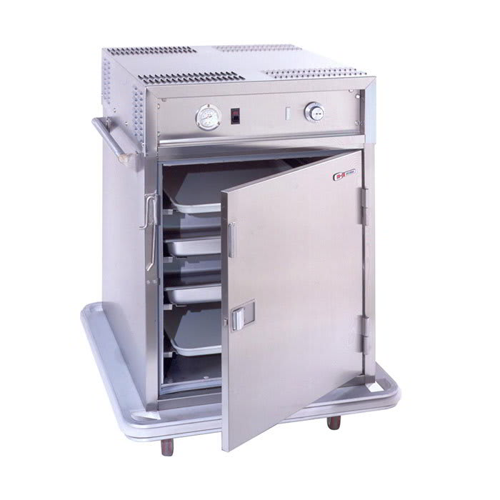 Carter-Hoffmann PH188 1/2-Height Mobile Heated Cabinet w/ (6) Pan Capacity, 120v