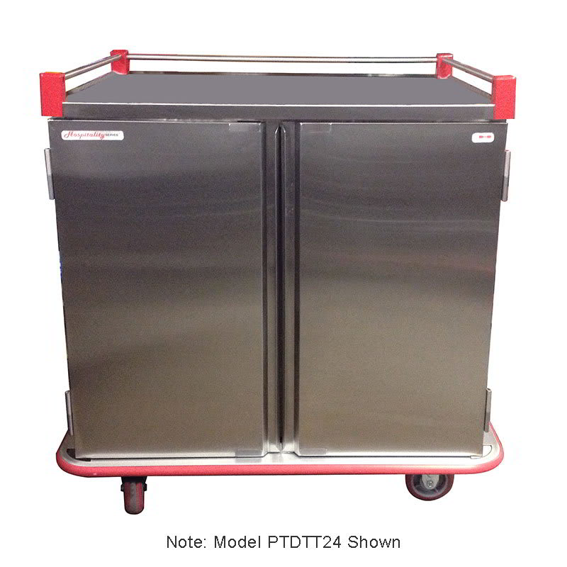 Carter-Hoffmann PTDTT28 28-Tray Ambient Meal Delivery Cart