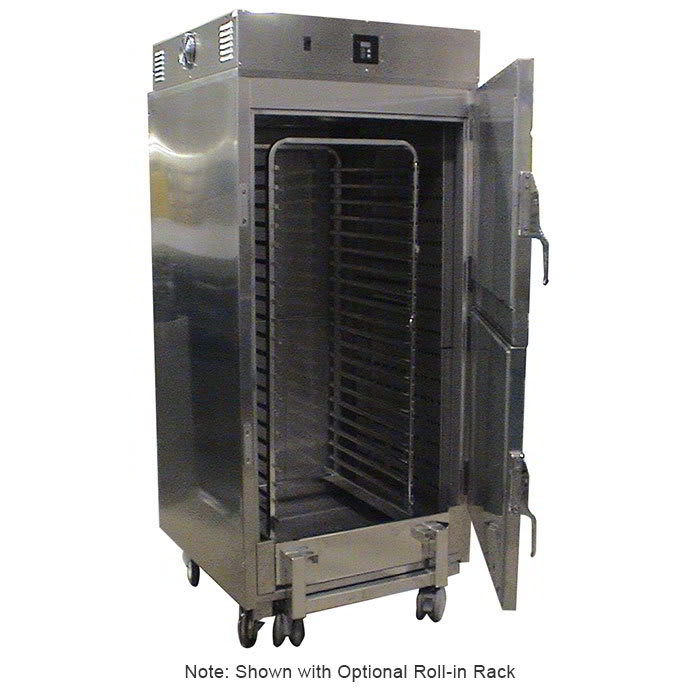 Carter-Hoffmann RTB201S 208 Roll-In Holding Cabinet w/ Reversible Doors, Stainless, 208/1