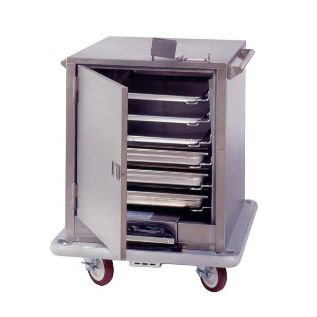 Carter-Hoffmann ST181 6 Tray Heated Meal Delivery Cart, 120v