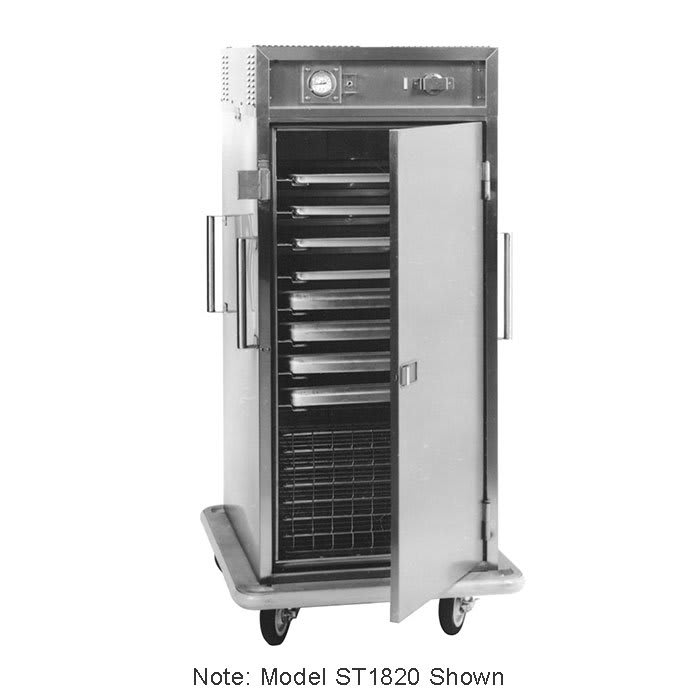 Carter-Hoffmann ST188 6-Tray Heated Meal Delivery Cart, 120v
