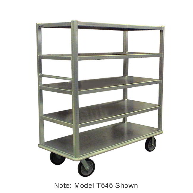 "Carter-Hoffmann T546 60.25"" Queen Mary Cart w/ 6 Levels, 3000-lb Capacity"