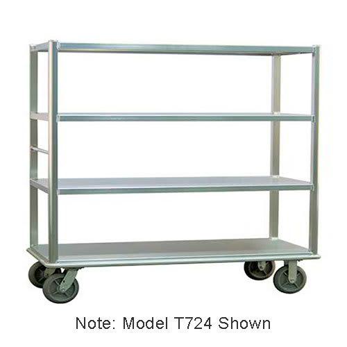 "Carter-Hoffmann T723 78.25"" Queen Mary Cart w/ 3 Levels, 1500-lb Capacity"