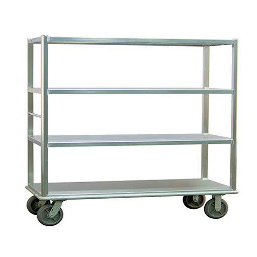 "Carter-Hoffmann T724 78.25"" Queen Mary Cart w/ 4 Levels, 2000-lb Capacity"