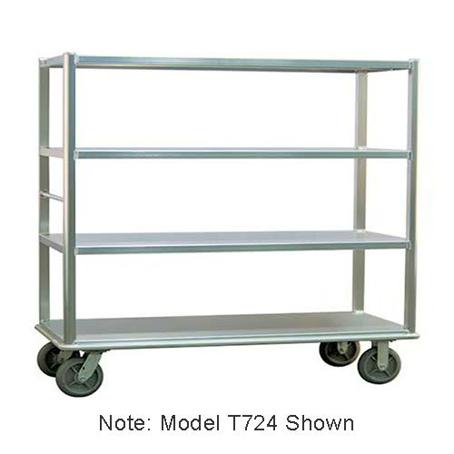 "Carter-Hoffmann T725 78.25"" Queen Mary Cart w/ 5 Levels, 2500 lb Capacity"