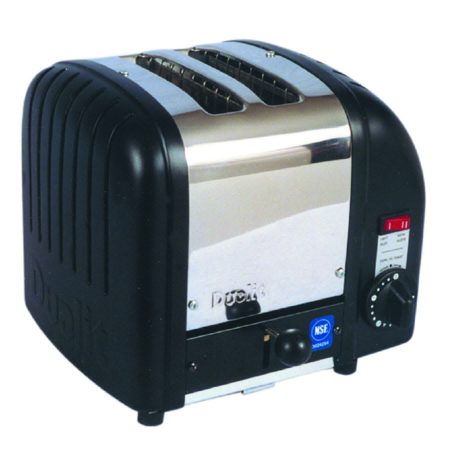 "Cadco CBT2 Slot Toaster w/ 2-Slice Capacity & 1.25""W Product Opening, 120v"
