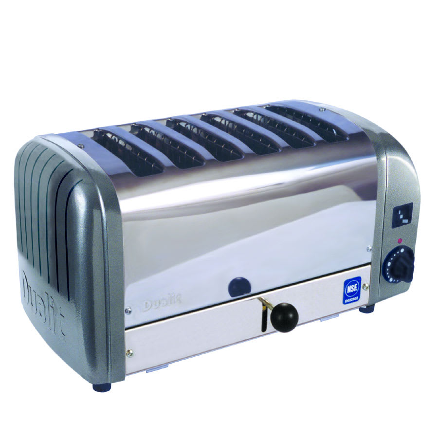 "Cadco CTW-6M 6-Slot Toaster w/ 1""W Product Opening, 208v/1ph"