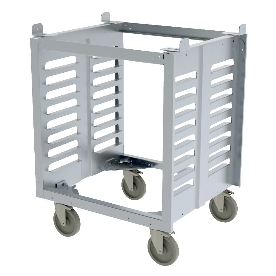 Cadco OST-195-C Full-Size Oven Stand w/ (8) Pan Capacity for XAF & XAFT Ovens