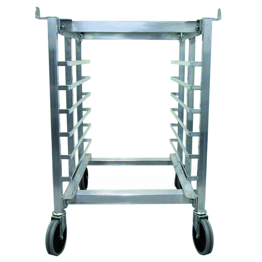 "Cadco OST-34A 20.75"" x 24.5"" Mobile Equipment Stand for XAF/XAFT & OV Convection Ovens, Pan Slides"