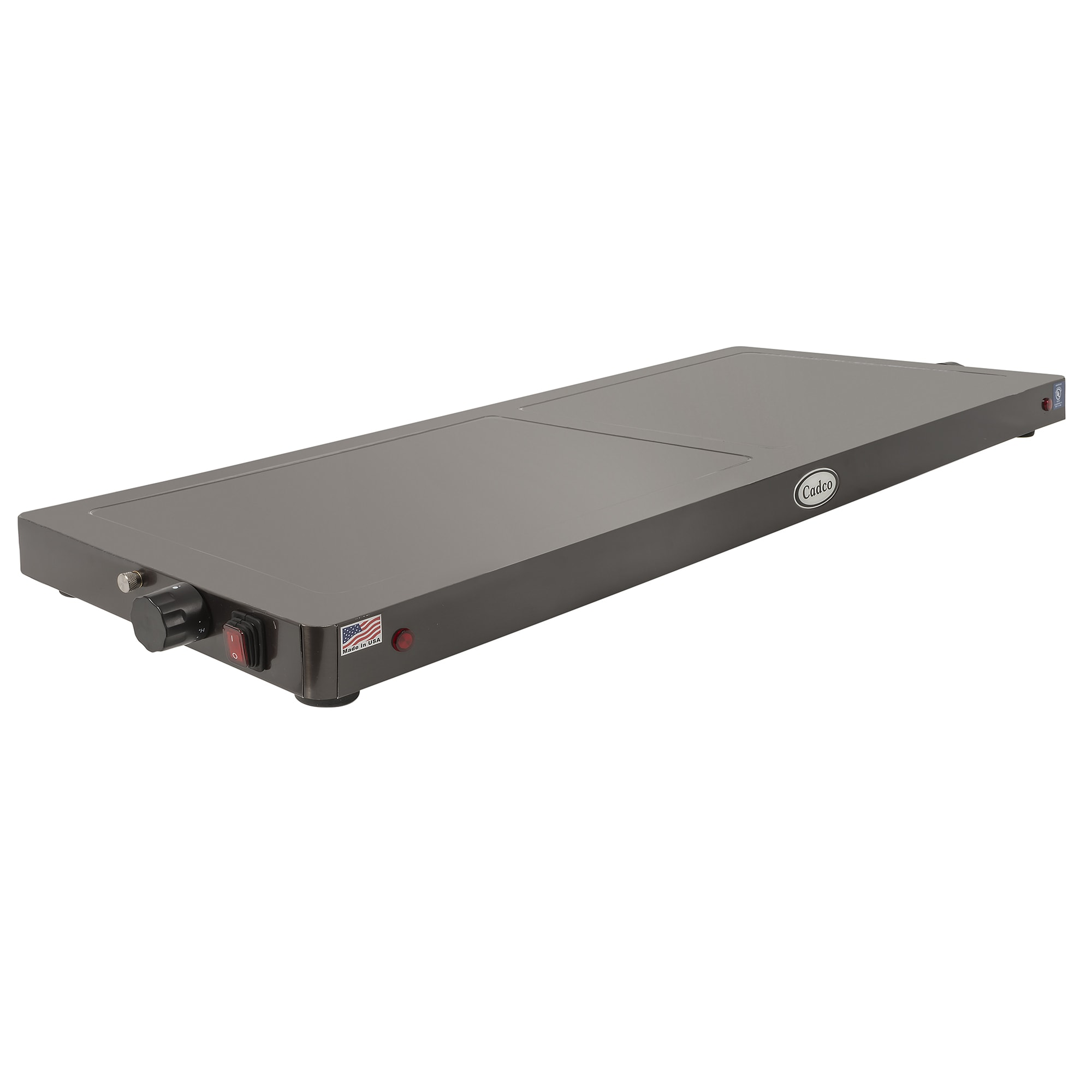 "Cadco WT-40-HD 45"" Heated Shelf w/ Adjustable Thermostat - Stainless, 120v"