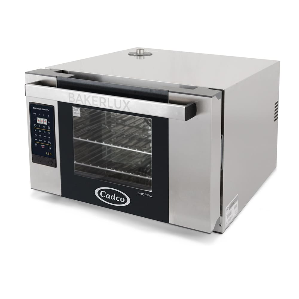 Cadco XAFT-03HS-LD Half-Size Countertop Convection Oven, 208-240v/1ph
