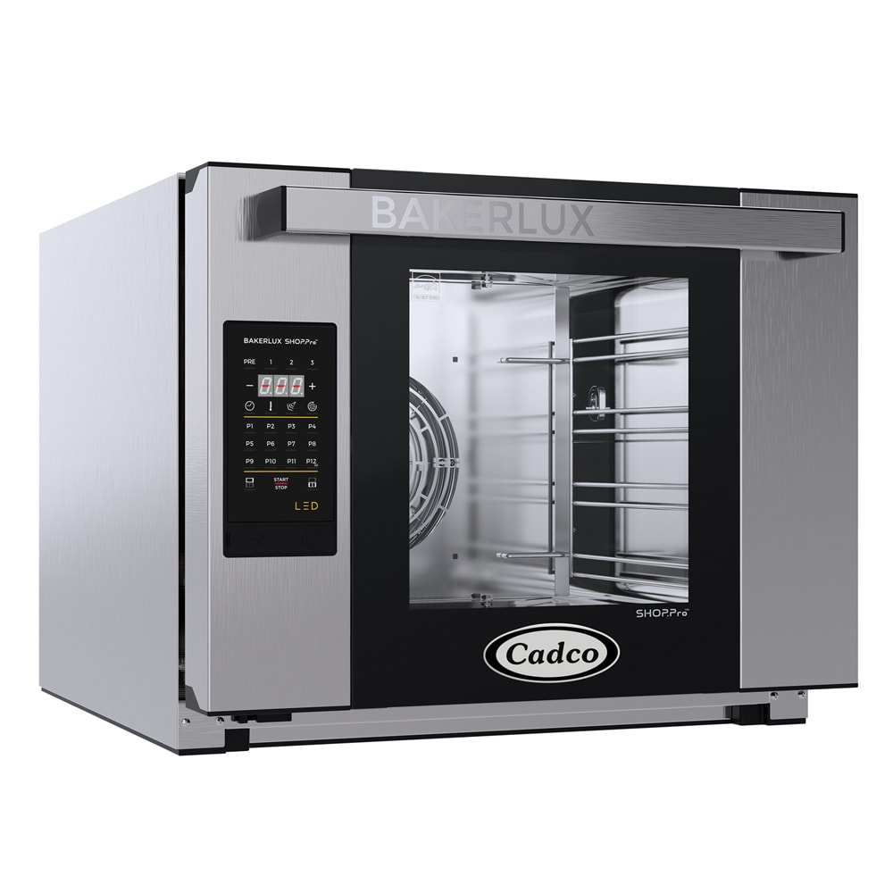 Cadco XAFT-04HS-LD Half-Size Countertop Convection Oven, 208 240v/1ph