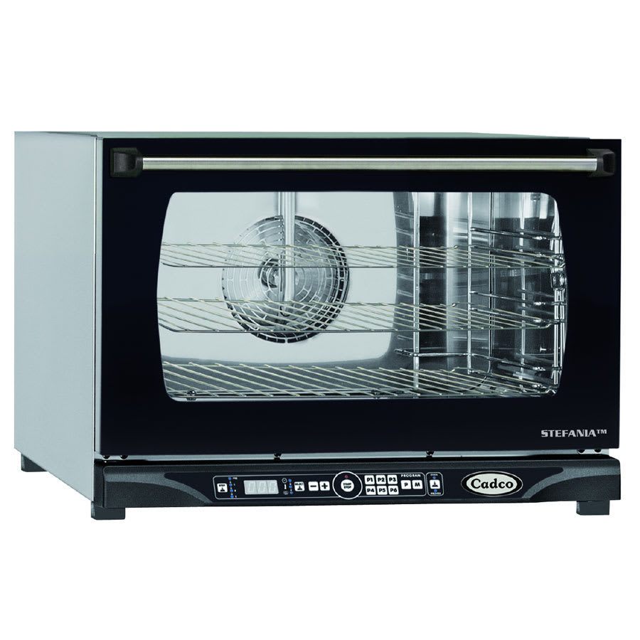 Cadco XAFT-115 Half-Size Countertop Convection Oven, 208-240v/1ph
