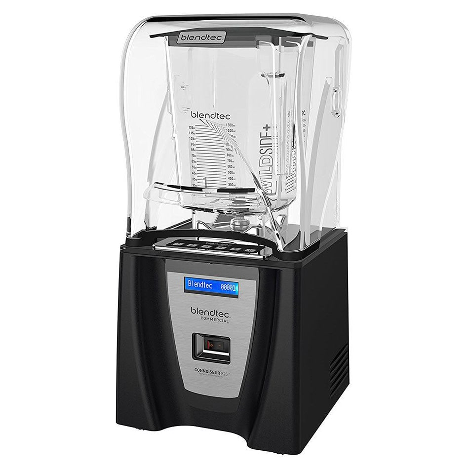 Blendtec C825C11Q-B1GB1A Countertop All Purpose Blender w/ Tritan Container, Sound Enclosure