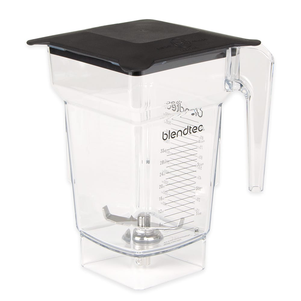 Blendtec FOURSIDE-S 2-qt FourSide Blender Jar w/ Soft Lid & Wingtip Blade