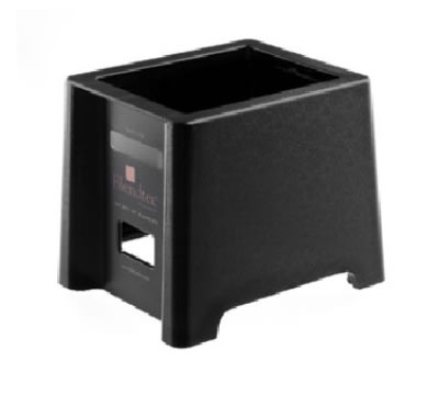 "Blendtec STAND (BB2) Blender Stand for SpaceSaver Models, 6 x 7 x 7.5"", Black Plastic"