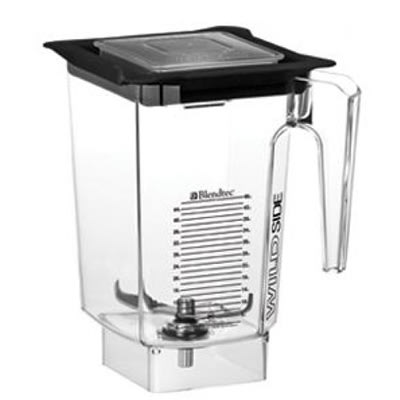 Blendtec WILDSIDE-SQ 3-qt WildSide Jar w/ Square-Hole Soft Lid & Wingtip Blade