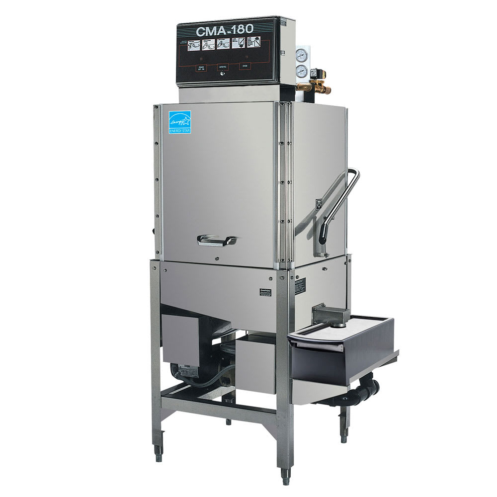 CMA CMA-180SB High Temp Door Type Dishwasher w/ Built-In Booster, 240v/1ph