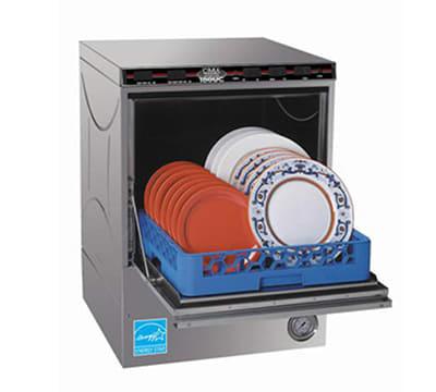 CMA CMA-180UC High Temp Rack Undercounter Dishwasher w/ Built-In Booster & (30) Racks/hr, 208v/1ph