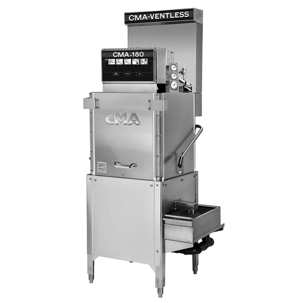 CMA CMA-180-VL Electric High Temp Door-Type Dishwasher w/ Booster Heater, 208v/1ph