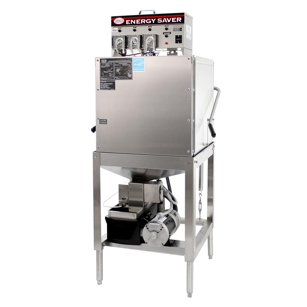 CMA EST-AH Low Temp Door Type Dishwasher w/ 40 Racks/hr, 115v