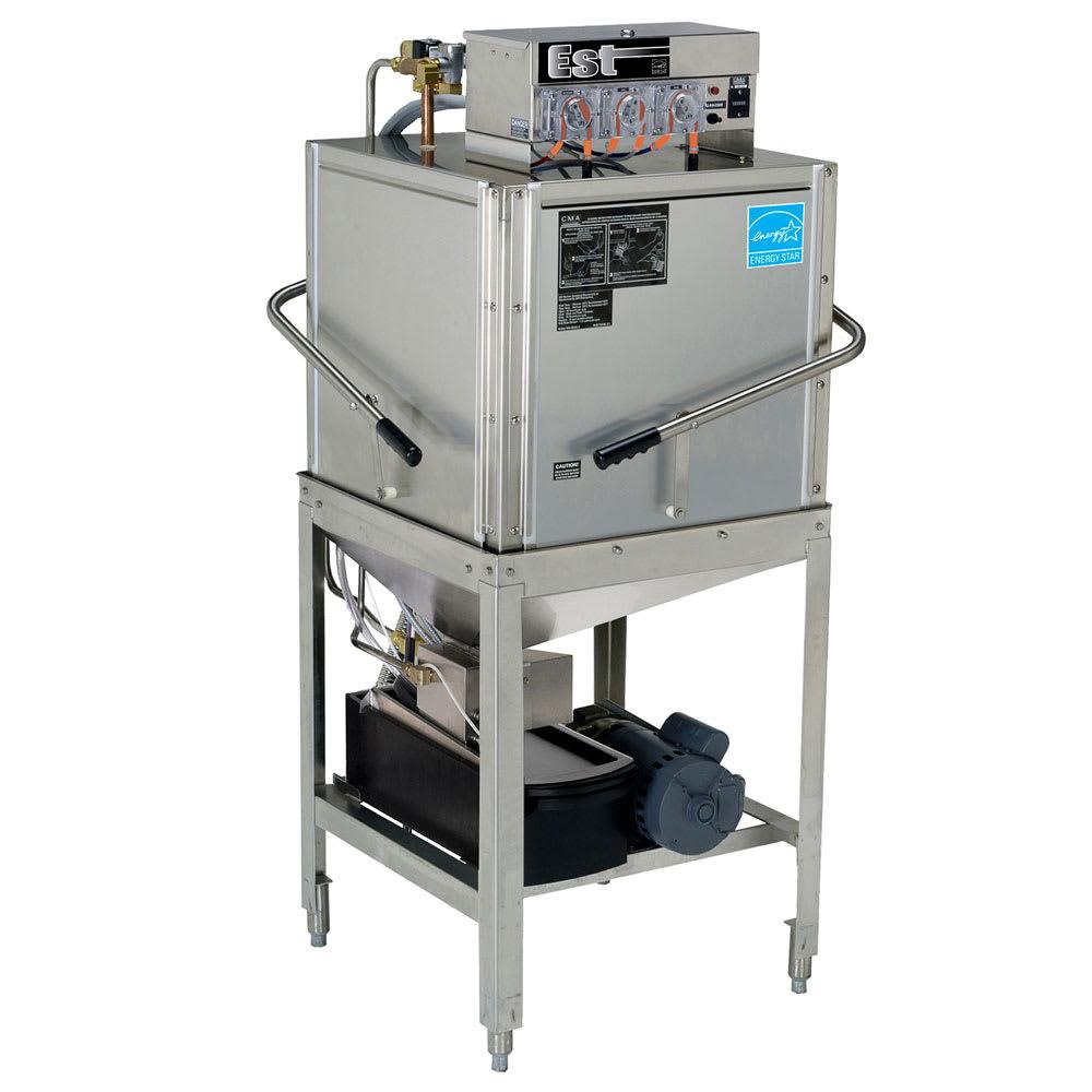 CMA EST-C Low Temp Door Type Dishwasher w/ 40-Racks/hr, 115v