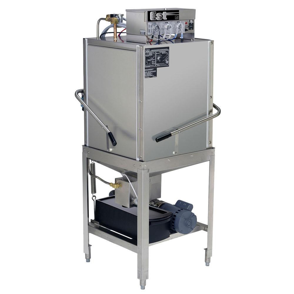 CMA EST-C-EXT Low Temp Door Type Dishwasher w/ 40-Racks/hr, 115v