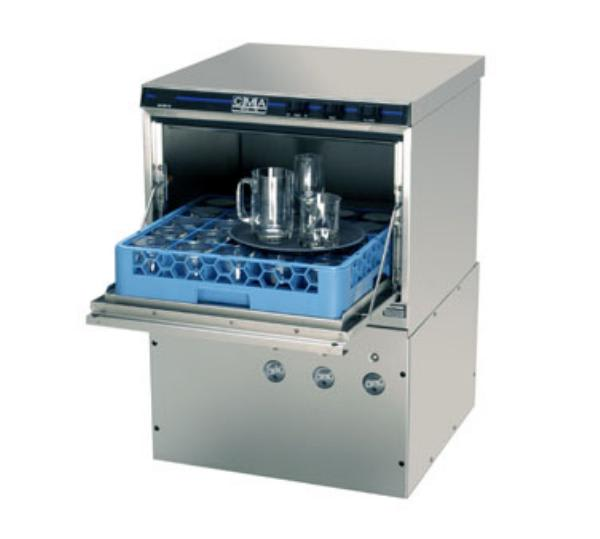 CMA GL-X Low Temp Rack Undercounter Glass Washer - (30) Racks/hr, 115v