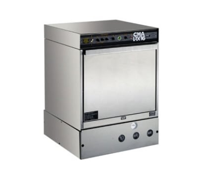 CMA L-1X16 W/HTR Low Temp Rack Undercounter Dishwasher - (30) Racks/hr, 115v