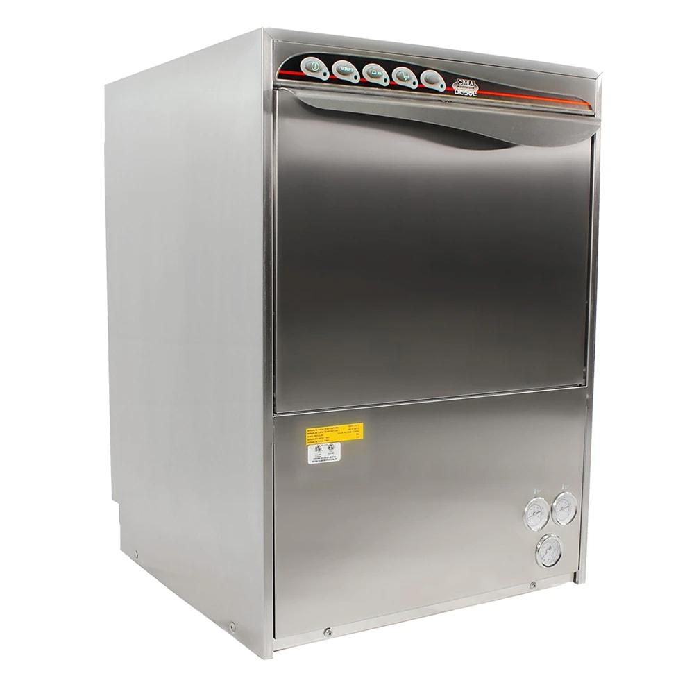 CMA UC50E High Temp Rack Undercounter Dishwasher w/ Built-In Booster & (30) Racks/hr, 208v/1ph