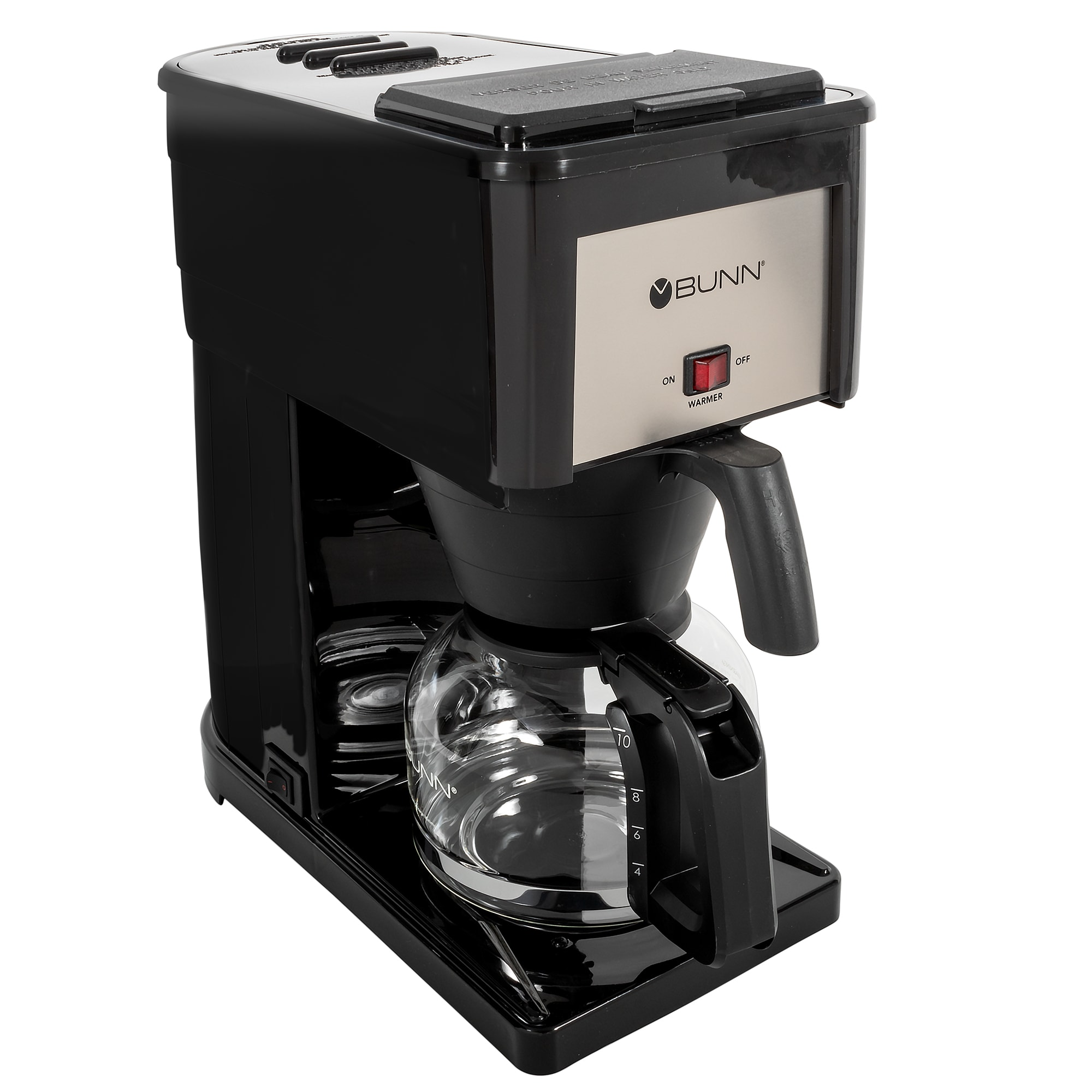 BUNN Home 38300.0064 GR Velocity Brew 10 cup Drip Coffee Maker, Black