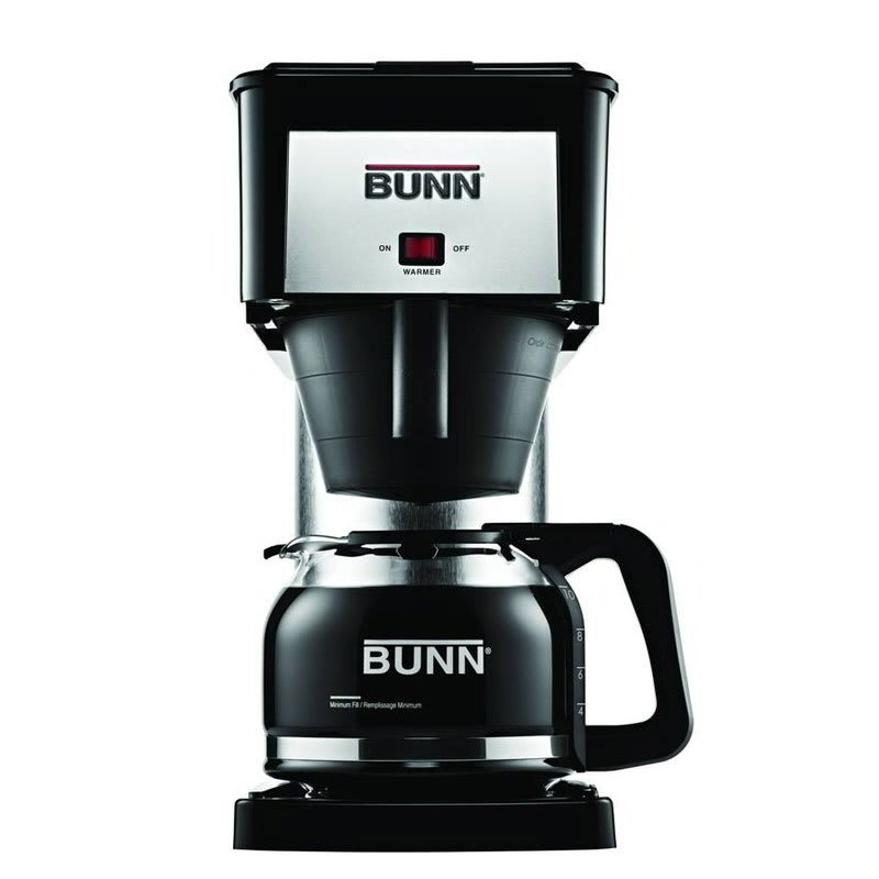 BUNN Home 38300.0067 BX Velocity Brew 10-cup Drip Coffee Maker, Black