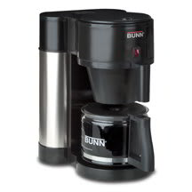 BUNN Home 38400.0000 NHBX Home Coffee Maker w/ Decanter, Black Stainless Finish