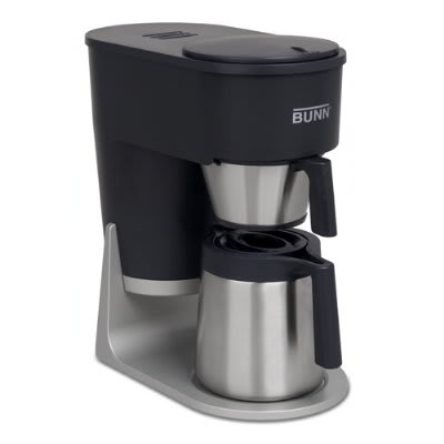 BUNN Home 40600.0100 ST Brewer, 10 Cup Vacuum Insulated Carafe, Gourmet Sprayhead