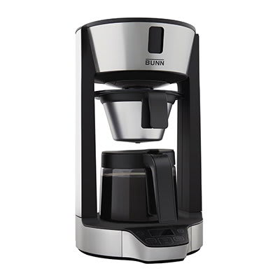BUNN Home 42600.0002 Phase Brew HG Multi-Cup Brewer w/ 8-Cup Capacity, Glass Carafe, Stainless