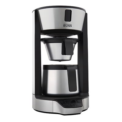 BUNN Home 42600.0006 Phase Brew HG Multi-Cup Brewer w/ 8-Cup Capacity, Stainless Carafe