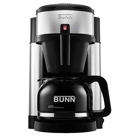 BUNN Home 44900.0102 Velocity Brew® NHS 10-cup Drip Coffee Maker, Stainless