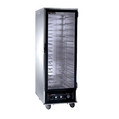 Cres Cor 121-PH-UA-11D Full Height Mobile Heated Cabinet w/ (11) Pan Capacity, 120v