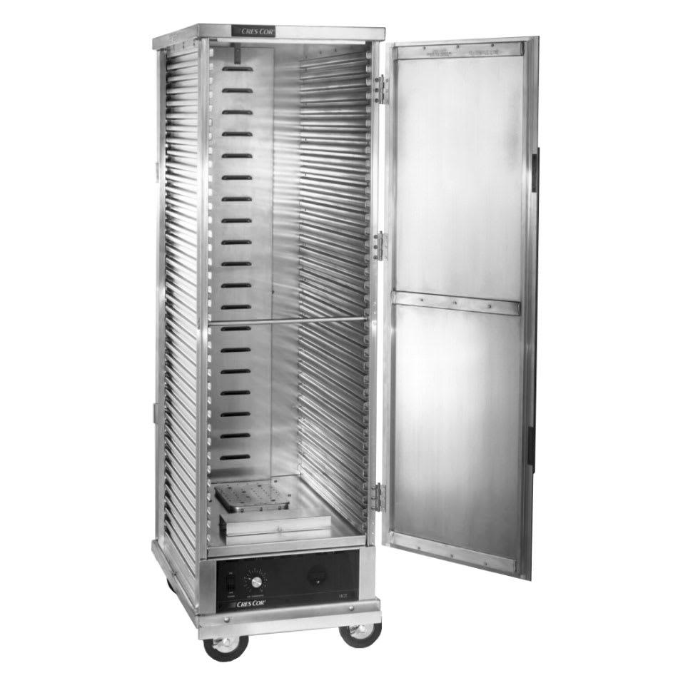 Cres Cor 130-1836D Full Height Non-Insulated Mobile Heated Cabinet w/ (34) Pan Capacity, 120v