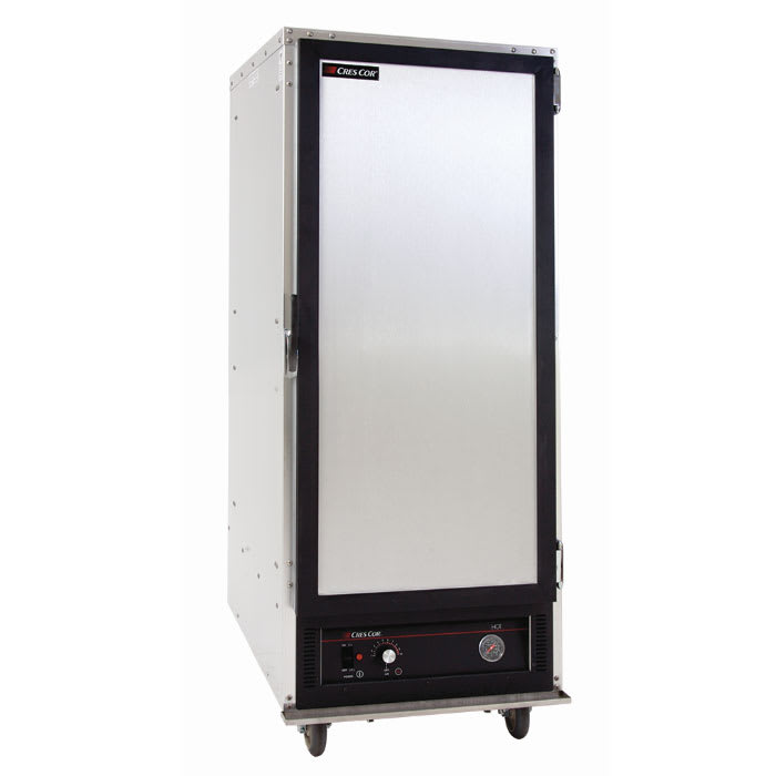 Cres Cor 131-UA-9D 3/4 Height Non-Insulated Mobile Heated Cabinet w/ (9) Pan Capacity, 120v