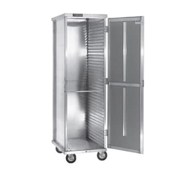 Cres Cor 150-1840D Full Height Mobile Heated Cabinet w/ (40) Pan Capacity
