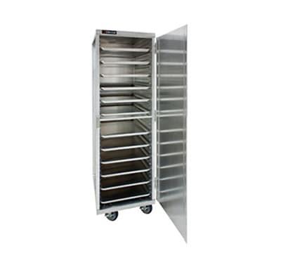 Cres Cor 150-1840E Mobile Enclosed Cabinet w/ 38-Pan Capacity, Full Height, Aluminum