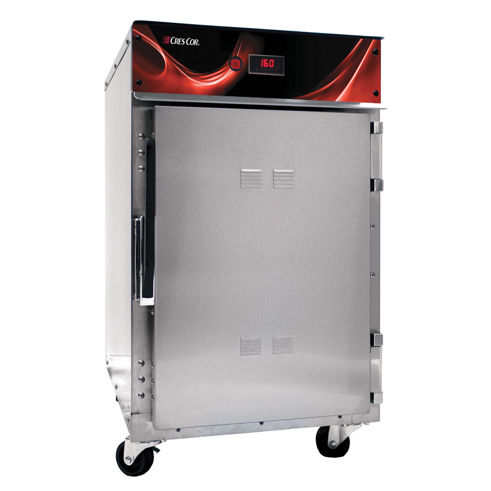 Cres Cor 500-HH-SS-DE Undercounter Insulated Mobile Heated Cabinet w/ (3) Pan Capacity, 120v