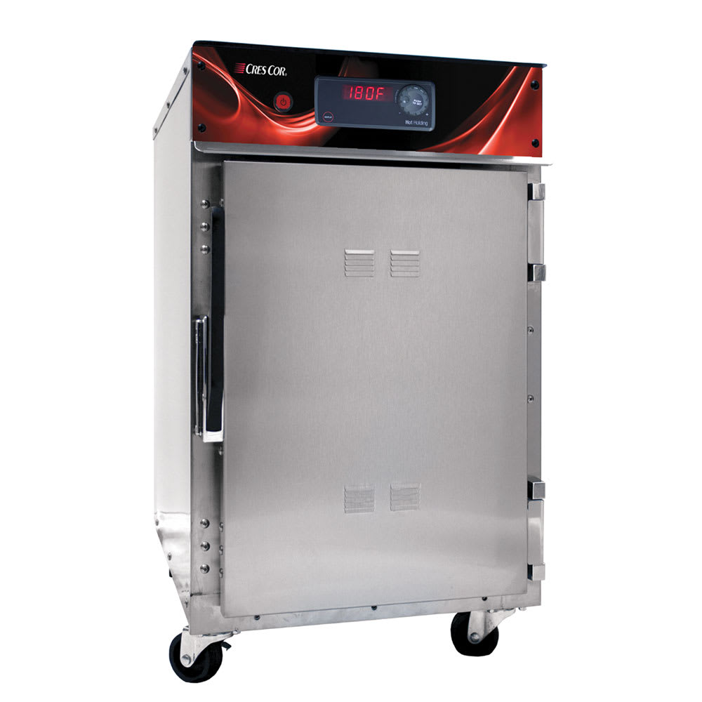 Cres Cor 500-HH-SS-DX Undercounter Insulated Mobile Heated Cabinet w/ (3) Pan Capacity, 120v
